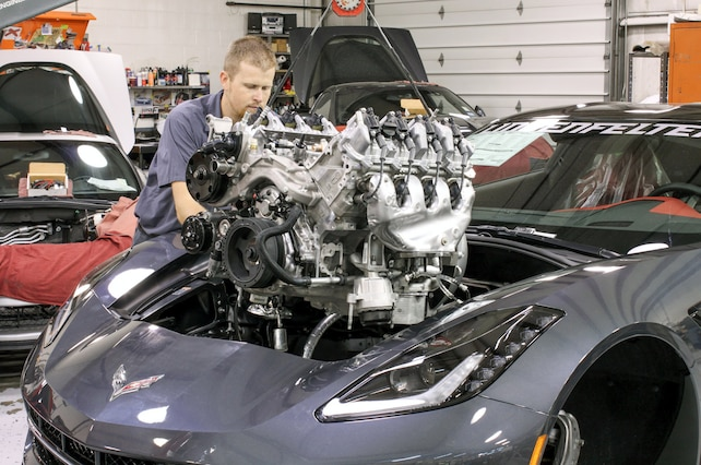 Lpe S Lt1 Heads Cam Package For The C7 Corvette Will Make You Forget Forced Induction