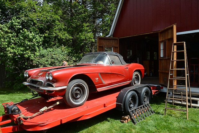1962 Corvette Fuel Injected Barn Find 030