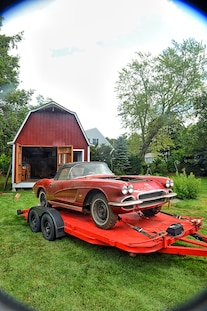 1962 Corvette Fuel Injected Barn Find 033