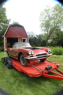 1962 Corvette Fuel Injected Barn Find 034