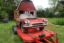 1962 Corvette Fuel Injected Barn Find 035
