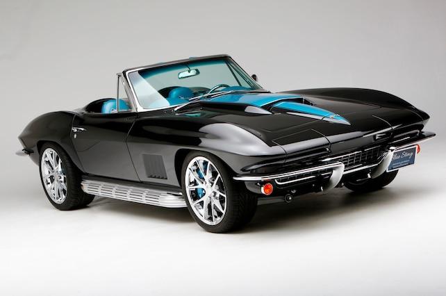 1967 Chevrolet Corvette Black Blue 30