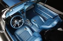 1967 Chevrolet Corvette Black Blue 15 Interior