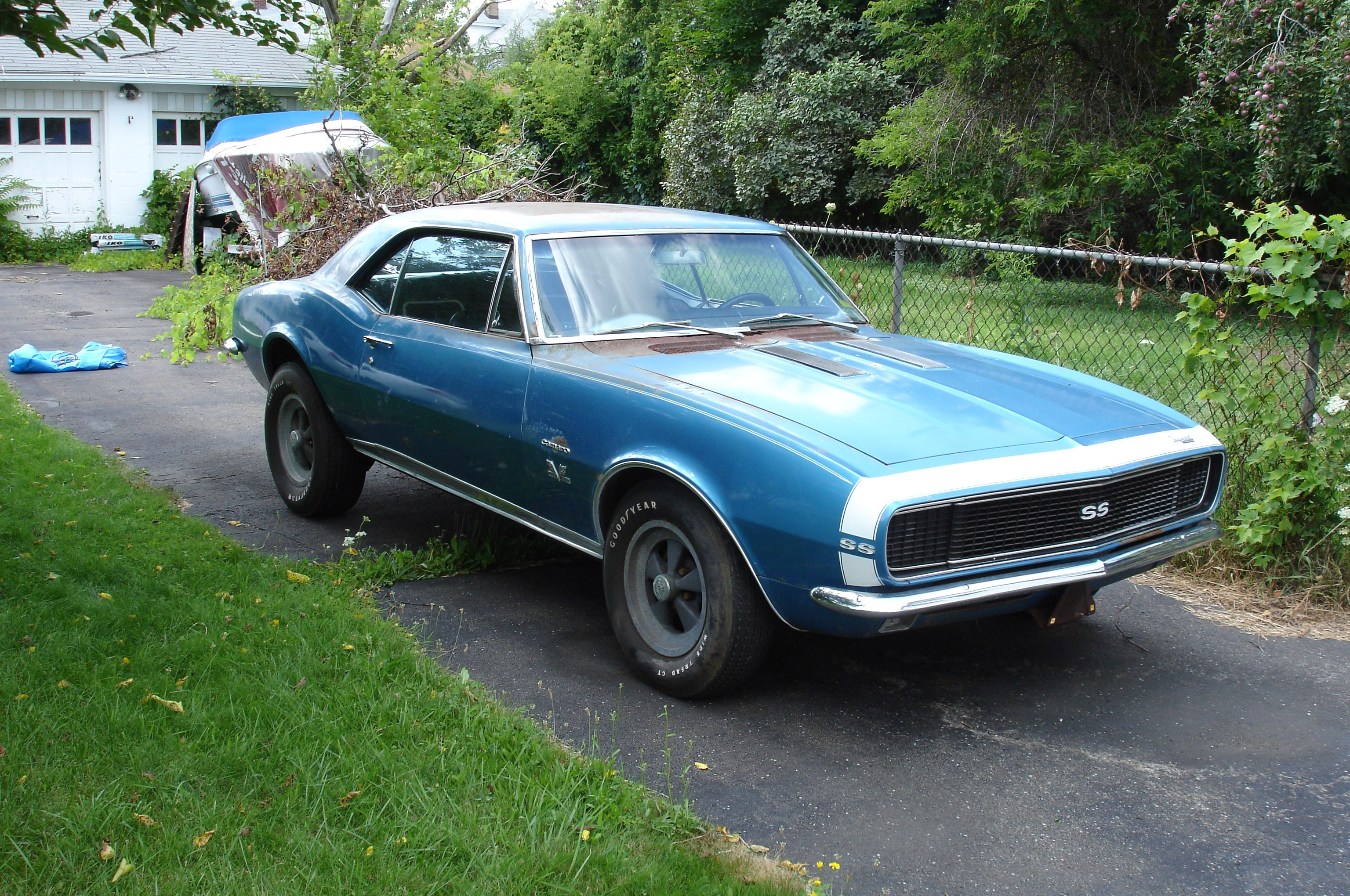 After 40 Years, Super Stock 1967 Chevrolet Camaro Sees Daylight Again