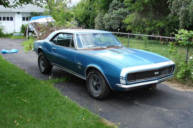 001 Rare Find Kachadourian 1967 Chevrolet Camaro Front Three Quarter