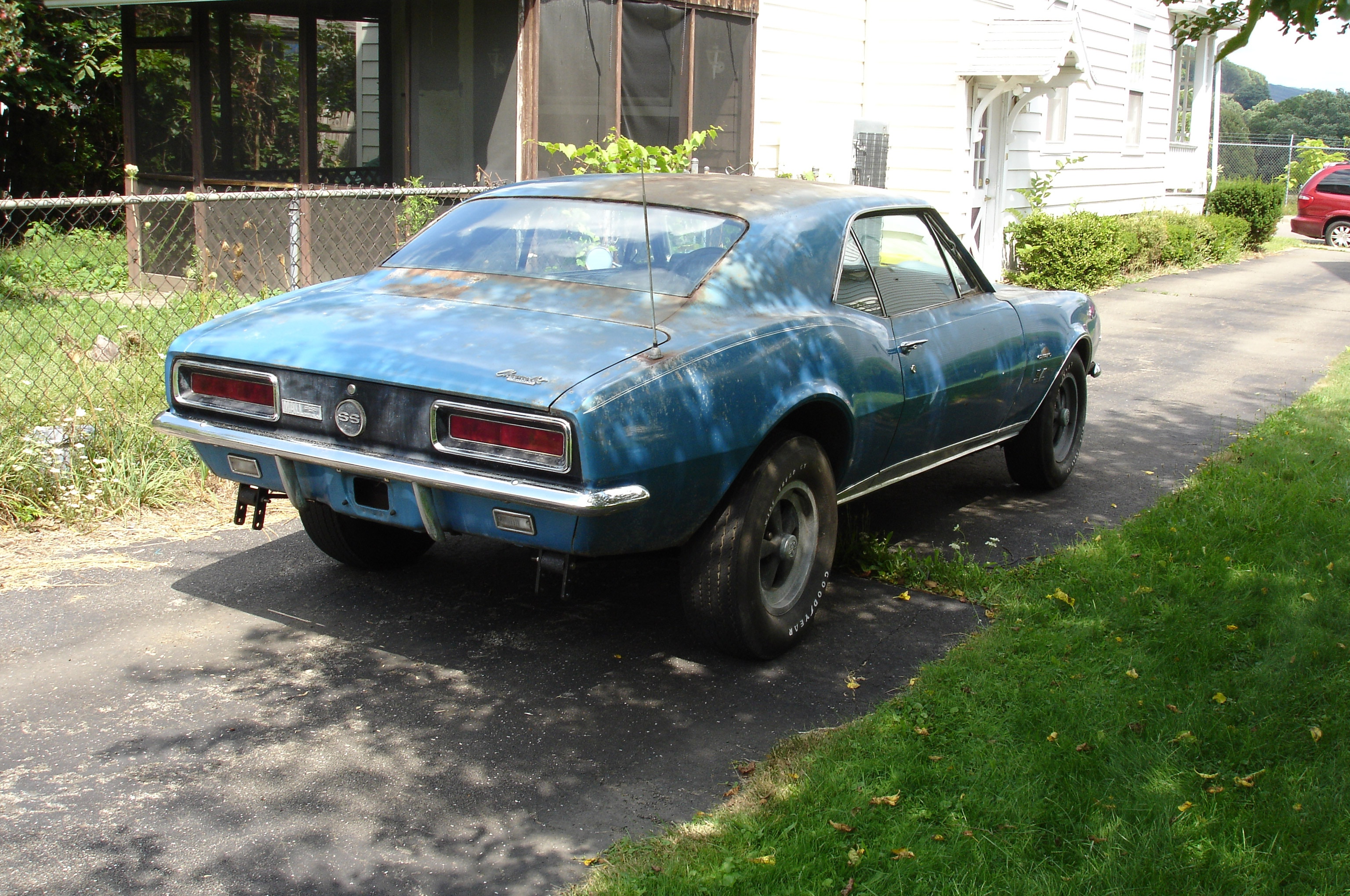 002 Rare Find Kachadourian 1967 Chevrolet Camaro Rear Three Quarter