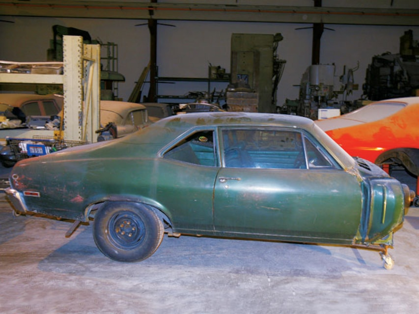 1970 Chevy Nova Bodywork And Replacement Body Panels Super