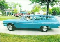 012 Readers Rides Hicks 1964 Chevrolet Chevelle Wagon Rear Three Quarter Alt 1