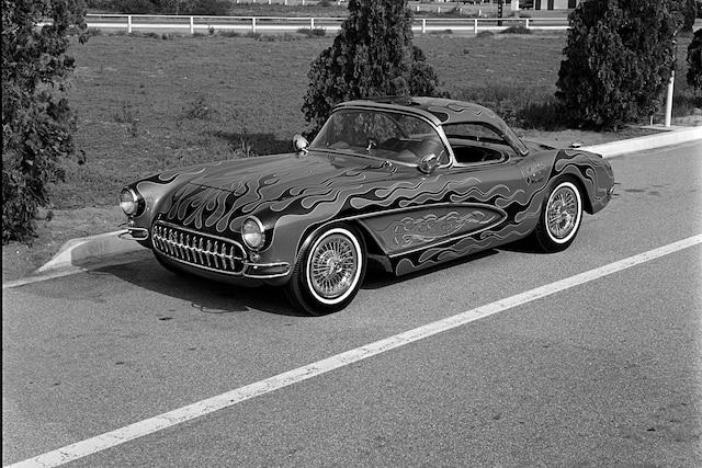 001 Pinky Richards 1957 Chevrolet Corvette