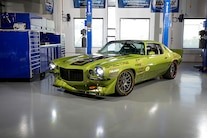 This 1973 Heidts-Equipped Camaro Will Have You Green with Envy