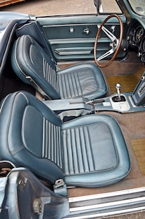 015 1967 Corvette Convertible Big Block Schutzbank