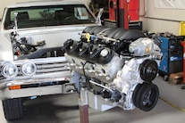 9 Ls Install 1967 Chevelle Modified Ls3 Swap Engine