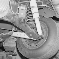 004 Archive 1974 Chevrolet Vega Motion 454 Rear Suspension Detail