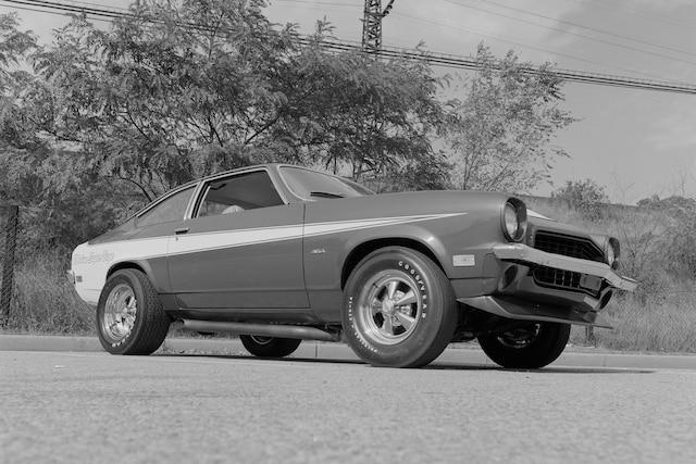 001 Archive 1974 Chevrolet Vega Motion 454 Front Three Quarter
