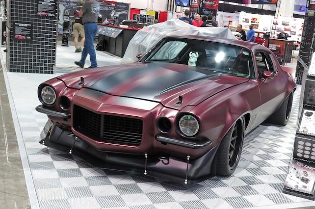 1971 Chevy Camaro Sema 2015 01 Front Quarter