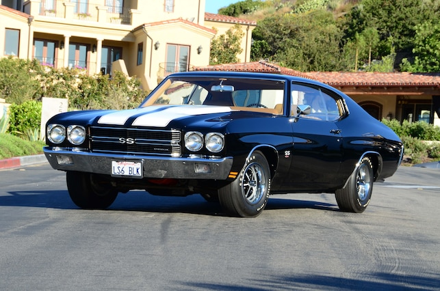 001 Ginger 1970 Chevrolet Chevelle Ss454 Ls6 Front Three Quarter Alt 1
