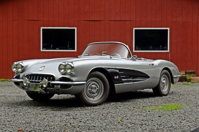 1960 Chevrolet Corvette Front Side View