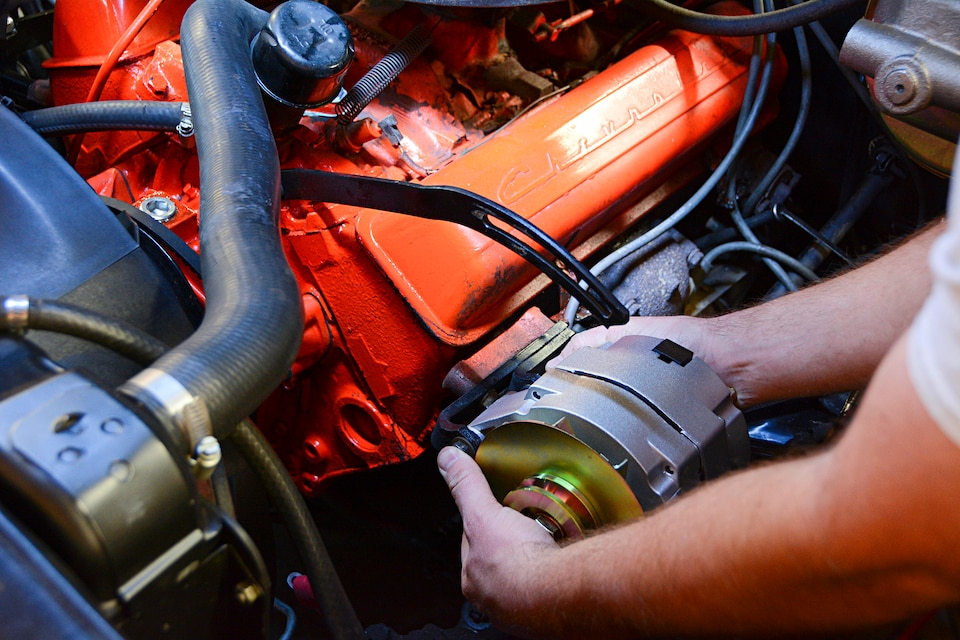 upgrade your gm charging system with a one-wire alternator on 1957 ford  ranchero wiring