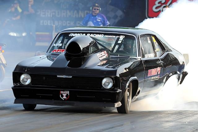 001 1970 Chevy Nova Burnout