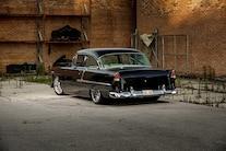 07 1955 Chevy Post Sedan Gorzich Rear Three Quarter