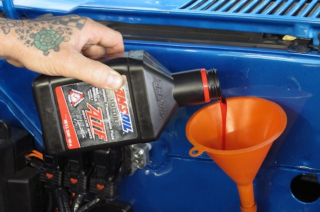029 AMSOIL LUBRICANTS CHEVY