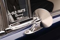 03 1956 Chevy Bel Air Hard Top Custom Cervantes Side Mirror