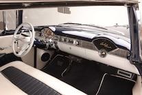 09 1956 Chevy Bel Air Hard Top Custom Cervantes Interior Overview