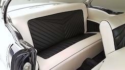13 1956 Chevy Bel Air Hard Top Custom Cervantes Rear Bench Seat