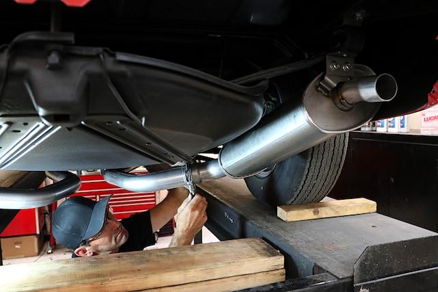01 1968 Corvette Dual Exhausts Insulation Corvette Central HotRodsbyDean