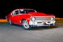 004 1970 Nova Pro Street Red Nitrous