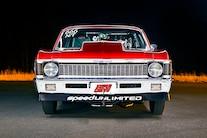 002 1970 Nova Pro Street Red Nitrous