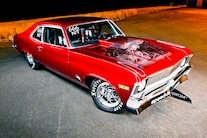 001 1970 Nova Pro Street Red Nitrous