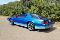 008 1985 Chevrolet Camaro Rear Driver Three Quarter