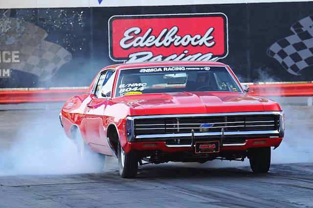 001 1969 Chevy Capice Burnout