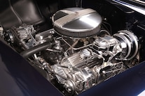 17 1956 Chevy Bel Air Hard Top Custom Cervantes Engine Overview