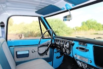 1969 Chevy C10 Aaron Welle Interior Overview
