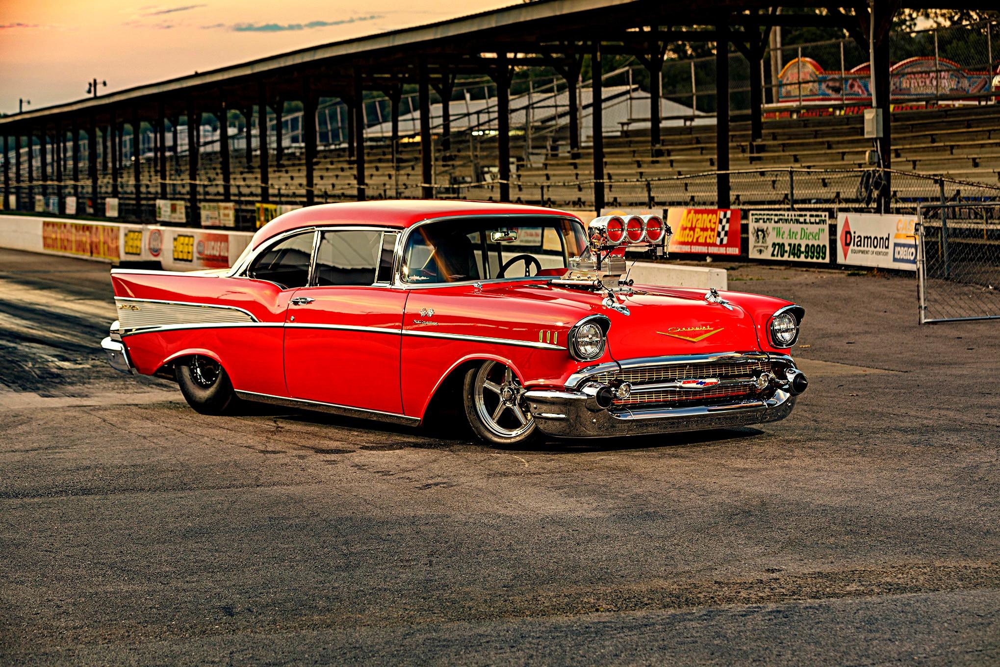 57 Chevy Aluminum Bullet Tips *NEW* 1957 Chevrolet