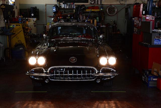 01 1960 C1 Corvette Headlight Adjustment