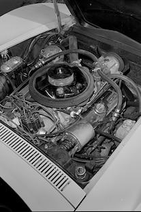 002 1969 Chevrolet Corvette Convertible L88 Engine