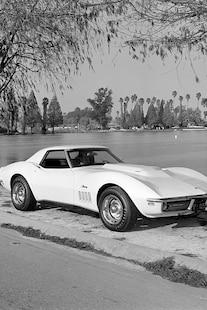 001 1969 Chevrolet Corvette Convertible L88 Front Three Quarter