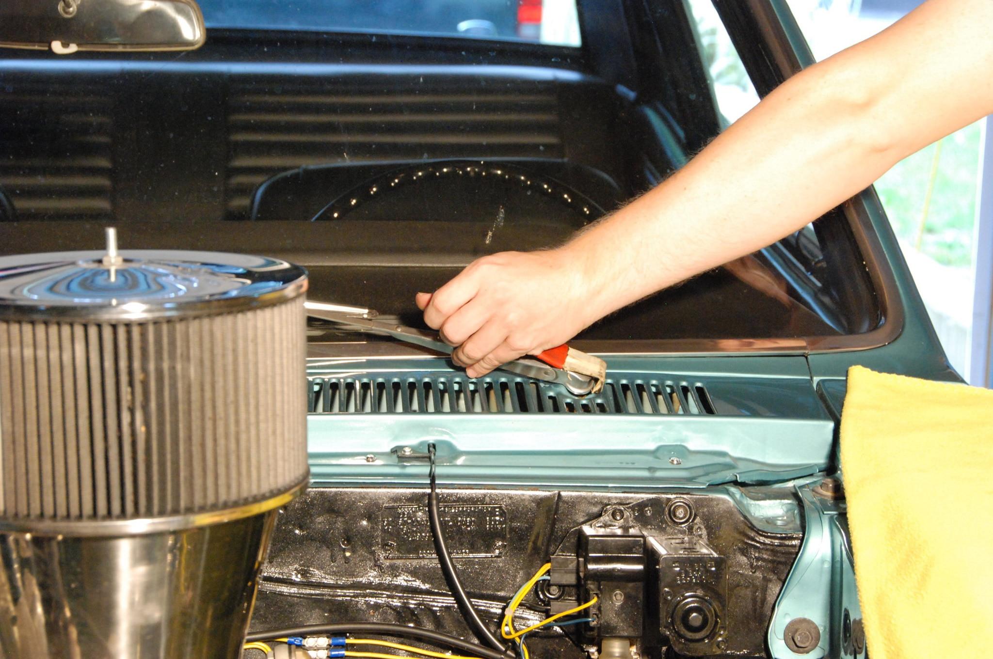 installing new port engineering\u0027s clean wipe wiper drive for a 1966new  port engineering wiper