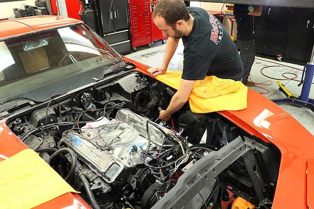 01 1968 C3 Corvette Wiring External Lights