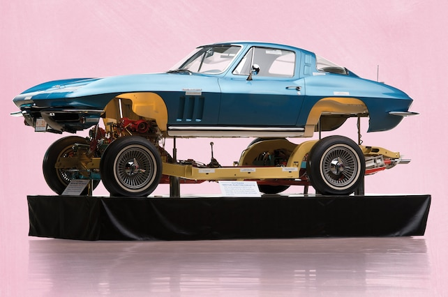 RM 1965 Corvette Coupe Cutaway