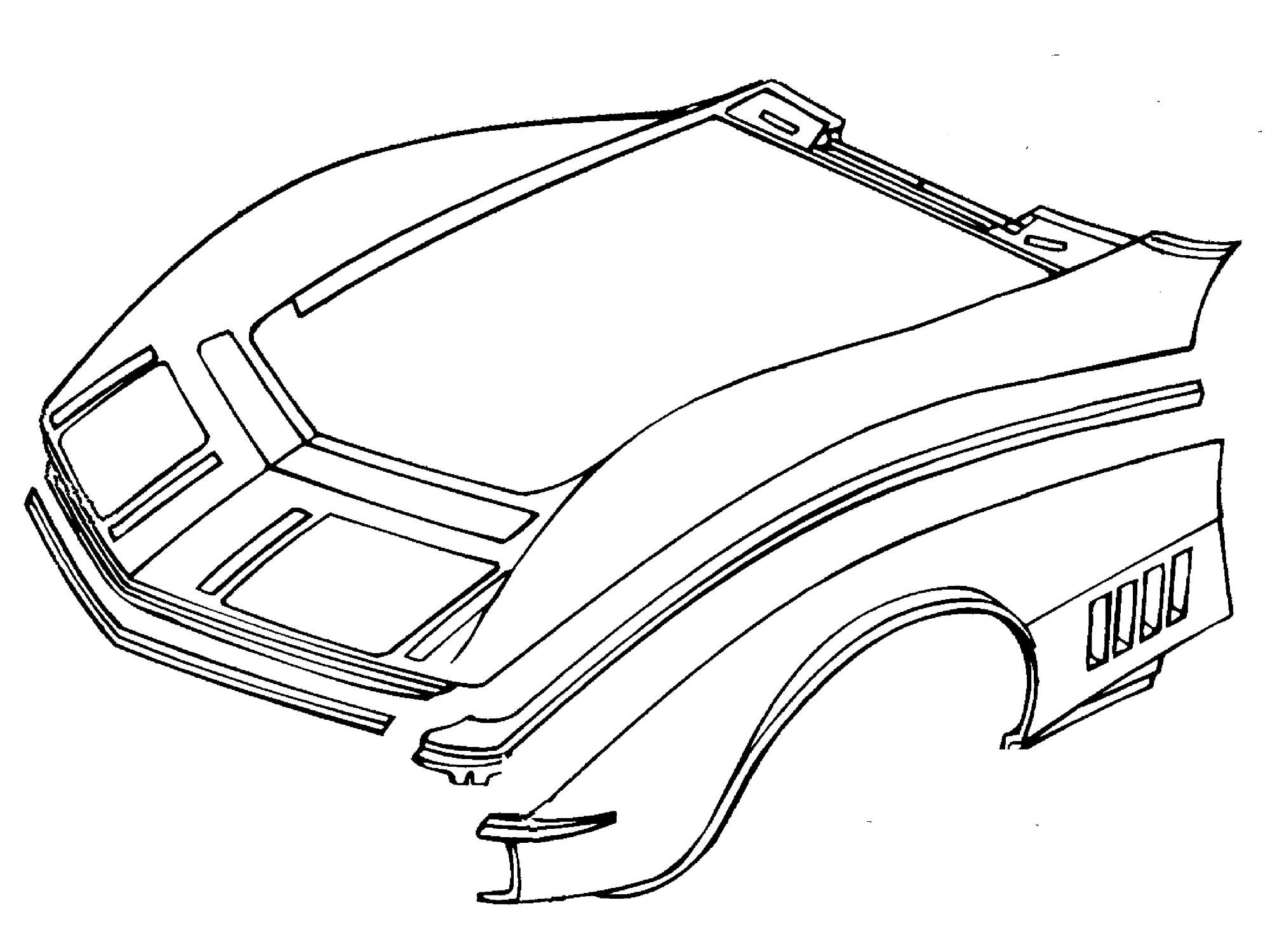 Repairing Your Corvettes Minor Fiberglass Damage
