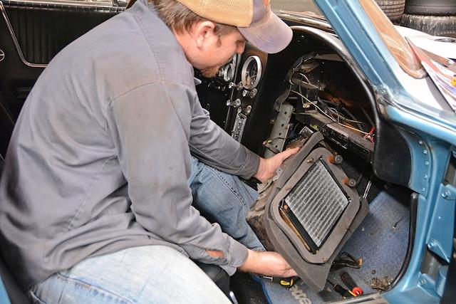 01 C2 Corvette Heater Rebuild