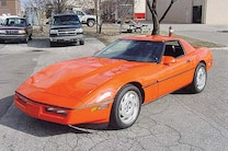2 1991 Big Doggie Corvette Front Side View