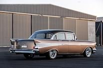 035 1957 Chevrolet Bel Air Four Door ZZ502 Big Block Right Hand Drive