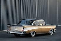 002 1957 Chevrolet Bel Air Four Door ZZ502 Big Block Right Hand Drive