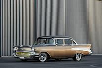 001 1957 Chevrolet Bel Air Four Door ZZ502 Big Block Right Hand Drive