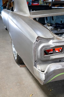 030 1966 Chevelle Brauns Motorsports Fabricated Chassis